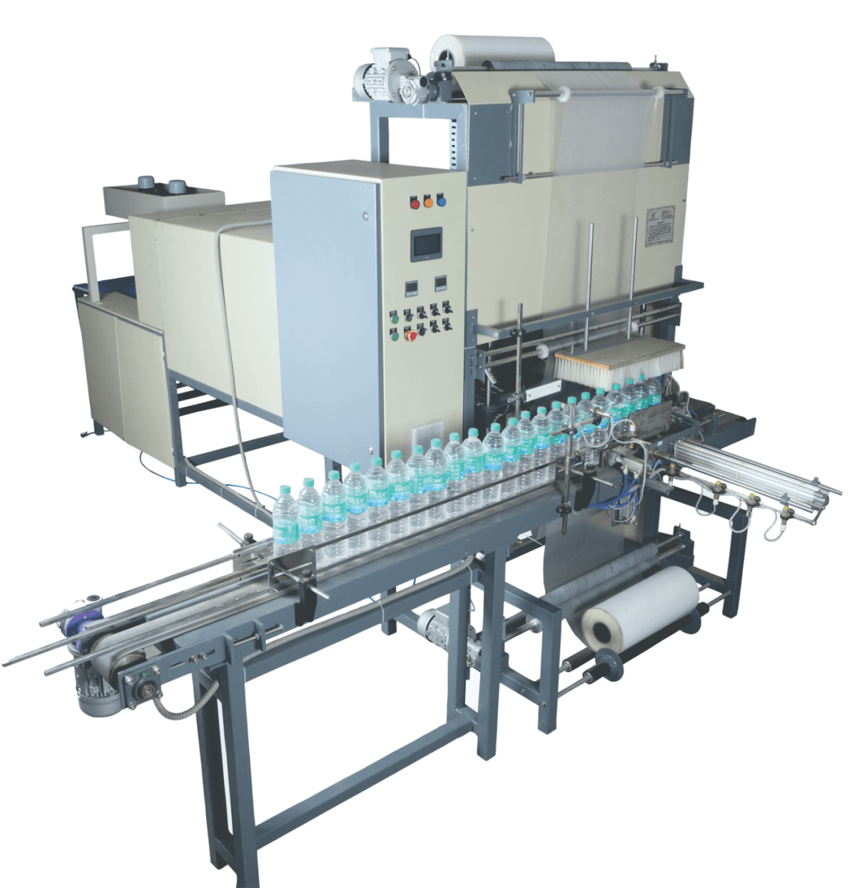 Fully Automatic 90 BPM Shrink Wrapping Machine Manufacturers India